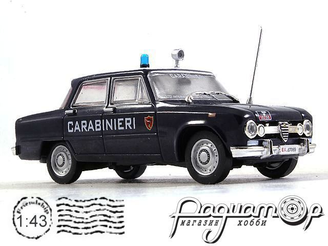 Alfa Romeo Giulia 1600 Super Carabinieri (1972) RA018
