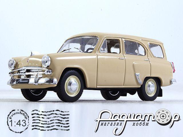 Автолегенды СССР №46, Москвич-423Н (1958) (I) 2000