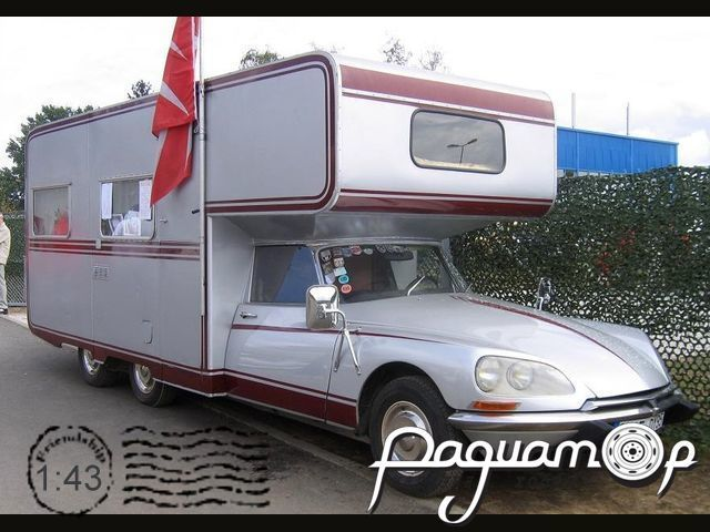 Citroen DS Camping car