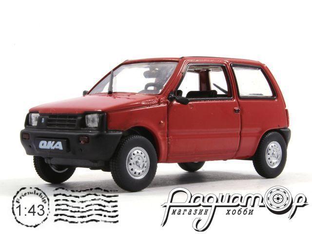 Автолегенды СССР №52, ВАЗ-1111 «Ока» (1988)