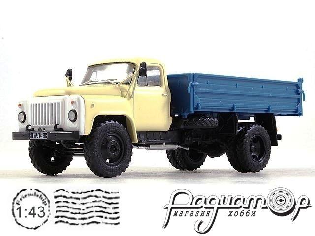 Автолегенды СССР Грузовики №44, ГАЗ-САЗ-53Б (1966)