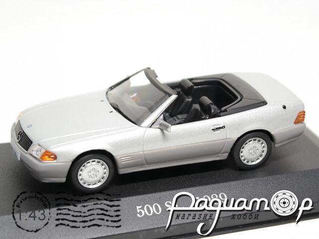 Mercedes-Benz S-Class 500SL Cabriolet (1989) LL036