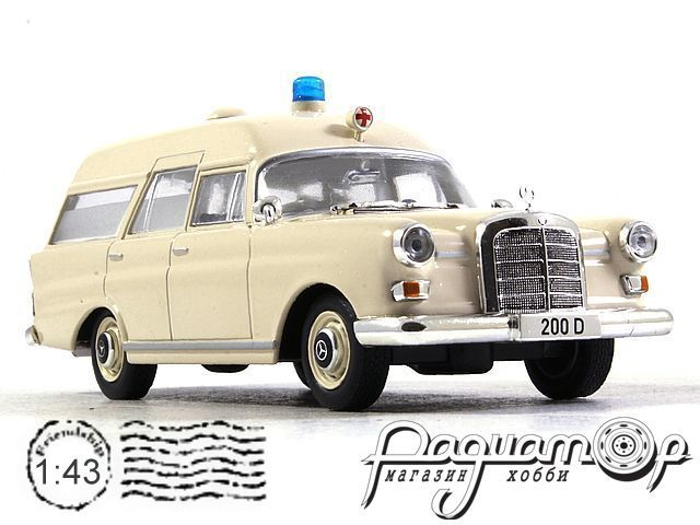 Mercedes-Benz 200 D Binz Ambulance (1965) LL067