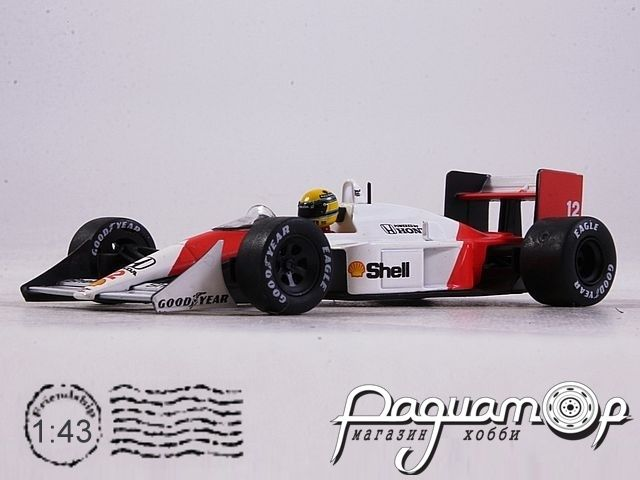 McLaren MP4/4 GP №12 San Marino, Ayrton Senna, World Champion (1988) L001