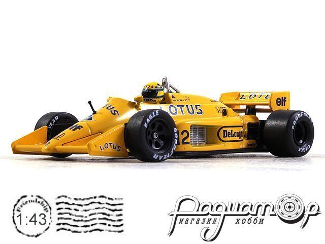 Lotus F1 99T №12 Monaco GP, Ayrton Senna (1987) L002