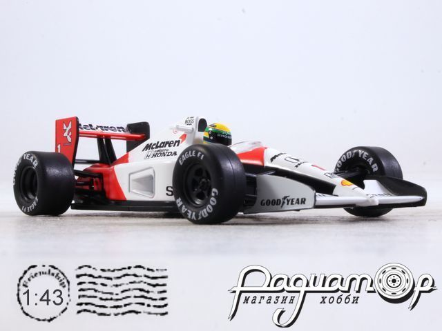 McLaren MP4/6 №1 German GP, Atrton Senna, World Champion (1991) L003