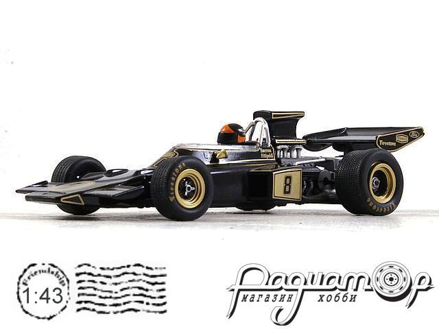 Lotus 72D №8 Great Britain GP, Emerson Fittipadi, World Champion (1972) L004