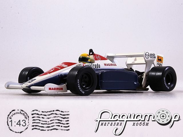 Toleman TG184 №19 Great Britain GP, Ayrton Senna (1984) L005