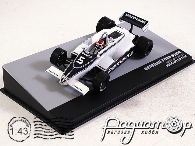 Brabham BT49C Ford №5 Germany GP, Nelson Piquet, World Champion (1981) L006