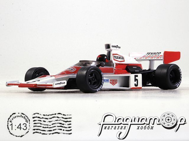 McLaren M23 Ford №5 Great Britain GP, Emerson Fittipaldi, World Champion (1974) L009