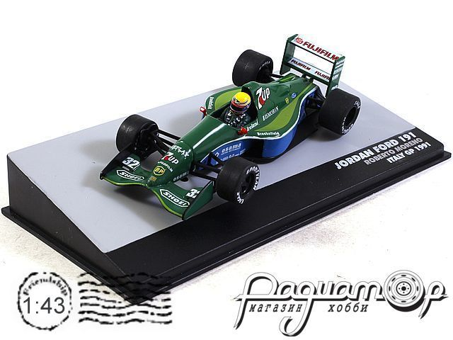 Jordan 191 Ford №32 GP Italy, Roberto Moreno (1991) L011