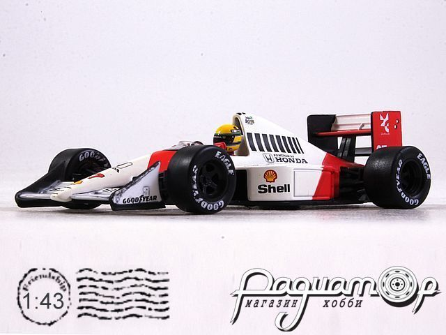 McLaren MP4/5B №27 British GP, Ayrton Senna, World Champion (1990) L012