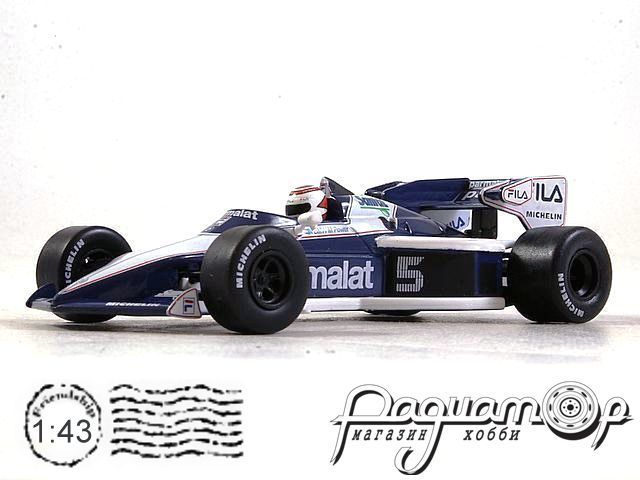 Brabham BT52 BMW №5 Europe GP, Nelson Piquet, World Champion (1983) L015