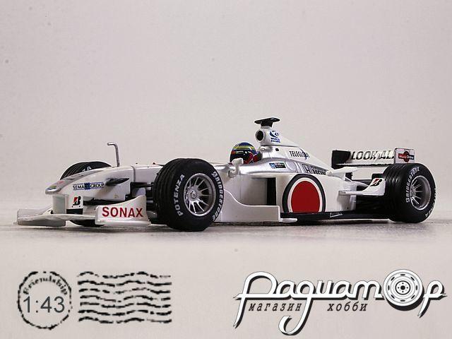 Bar 002 Honda №23, Ricardo Zonta (2000) L018