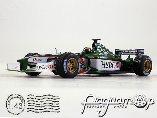 Jaguar R2 Ford №19 Cosworth Season, Luciano Burti (2001) L021