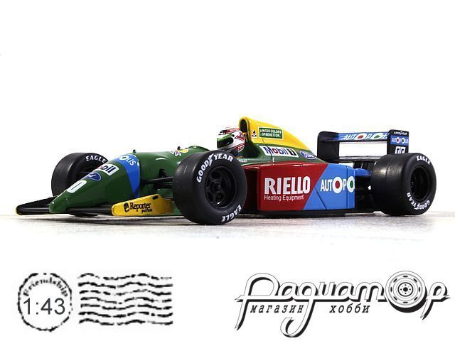 Benetton Ford B189B №20 Japan G, N.Piquet (1990) L024