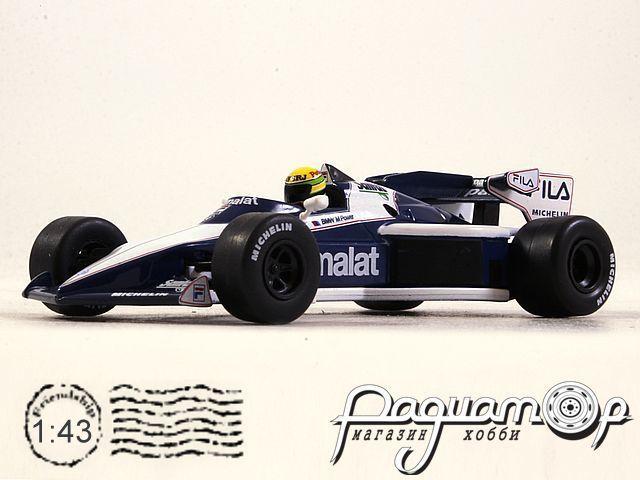 Brabham BT52B BMW №5 Test Paul Ricard 14 November, Ayrton Senna (1983) L029