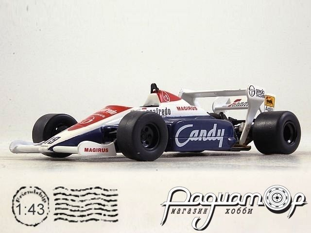 Formula 1 Auto Collection №6, Toleman TG 184, Айртон Сенна (1984)