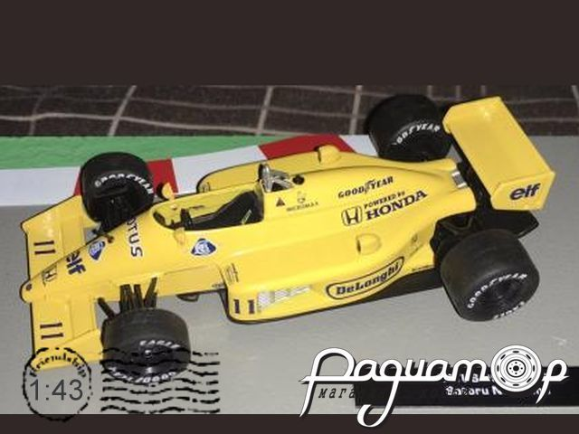 Formula 1 Auto Collection №9, Lotus 99T, Сатору Накаджима (1987)