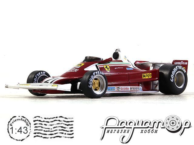 Formula 1 Auto Collection №11, Ferrari 312 T2, Жиль Вильнёв (1977)