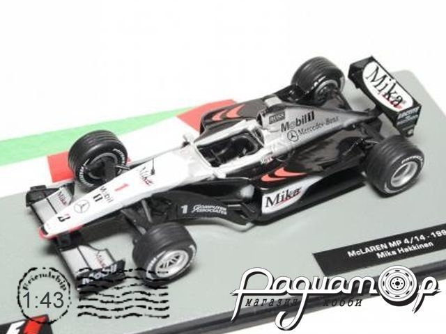 Formula 1 Auto Collection №12, McLaren MP4/14, Мика Хаккинен (1999)