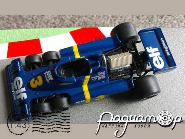Formula 1 Auto Collection №13, Tyrrell P34, Джоди Шектер (1976)