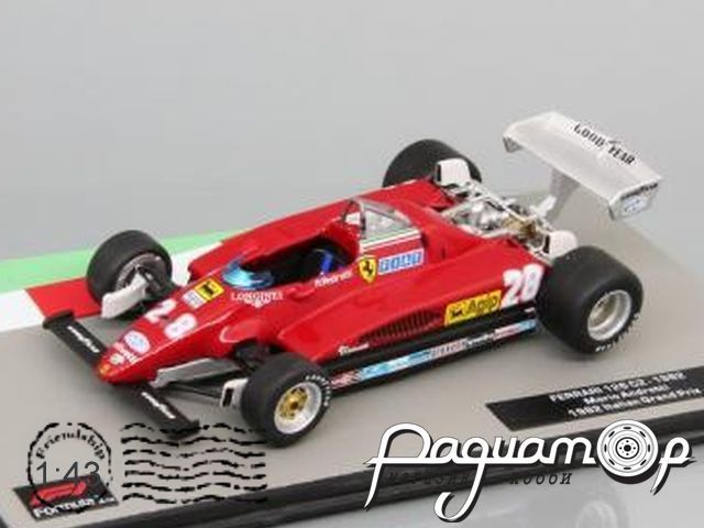 Formula 1 Auto Collection №15, Ferrari 126 C2, Марио Андретти (1982)