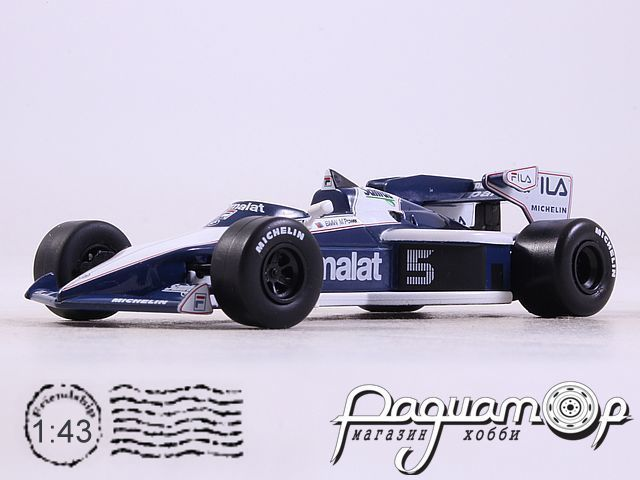 Formula 1 Auto Collection №16, Brabham BT52B, Нельсон Пике (1983)