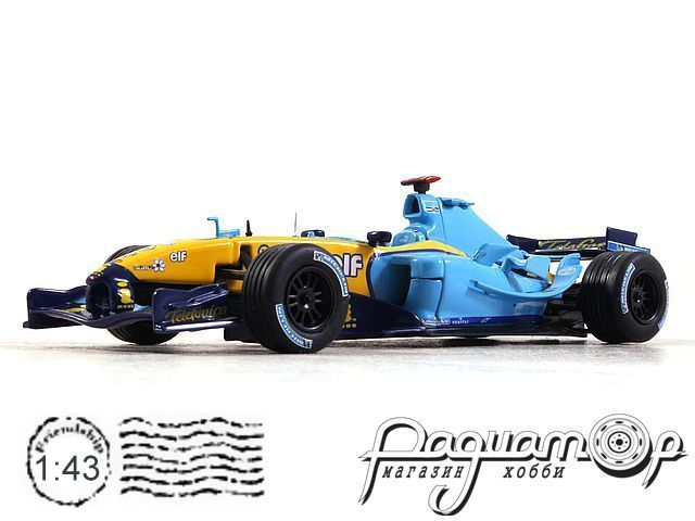 Formula 1 Auto Collection №17, Renault R24, Ярно Трулли (2004)
