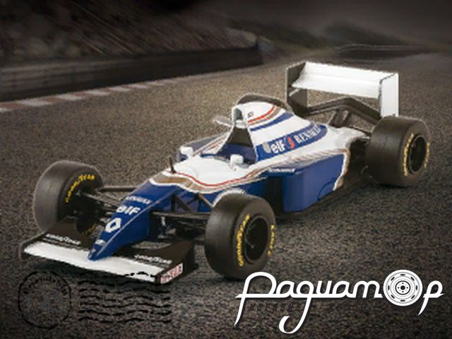 Formula 1 Auto Collection №22, Williams FW16, Дэймон Хилл (1994)