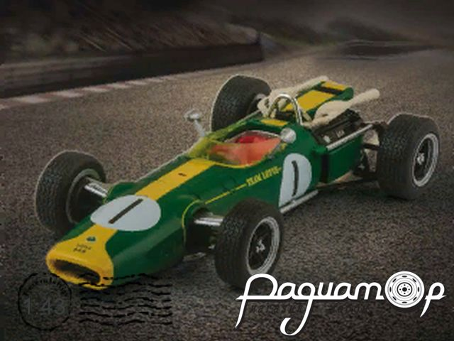 Formula 1 Auto Collection №25, Lotus 43, Джим Кларк (1966)