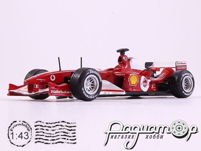 Formula 1 Auto Collection №25, Ferrari F2004, Рубенс Барикелло (2004)