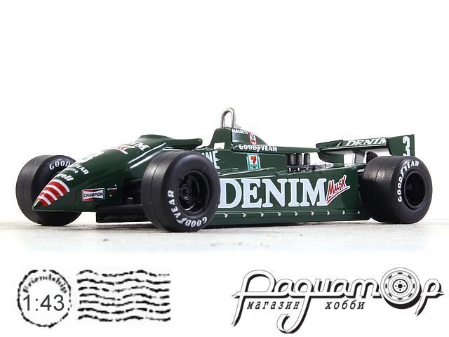 Formula 1 Auto Collection №29, Tyrrel O11, Микеле Альборето (1982)