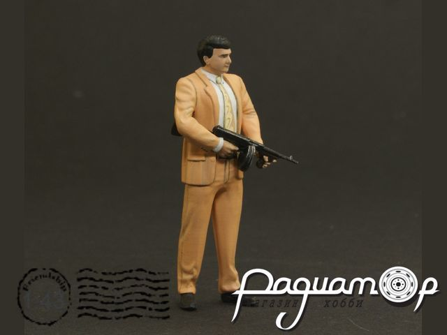 Джо Барбаро (гангстер с пистолет-пулеметом Томпсона) NS-F-43052
