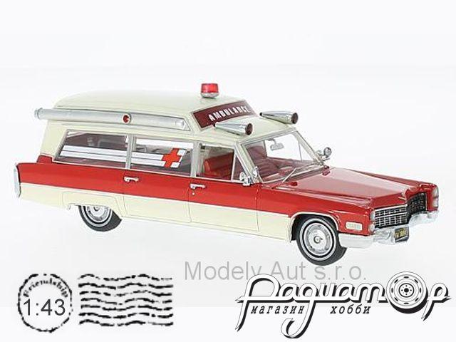 Cadillac S & S Ambulance (1966) 43898