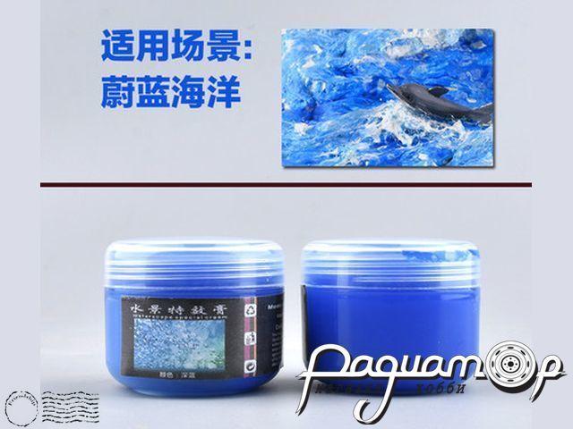Материал для моделирования воды: Темно-синяя (50мл) 9157726