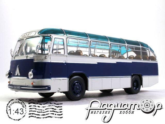 ЛАЗ-695Б «Ультрамарин» городской (1958) UM43-B004B