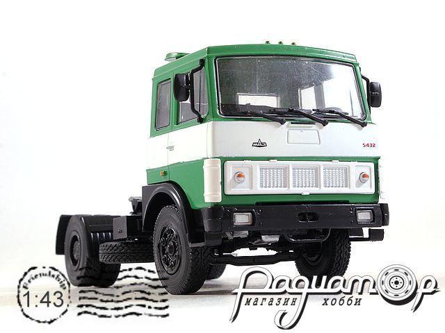 Автолегенды СССР Грузовики №45, МАЗ-5432 седельный тягач (1986)
