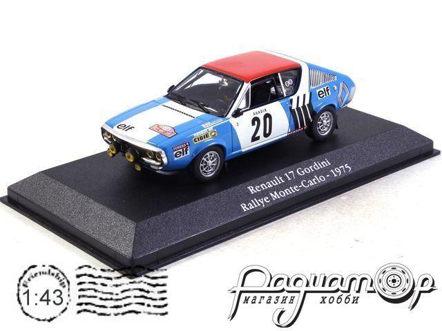 Renault 17 Gordini №20, Rally Monte Carlo (1975) 2235025