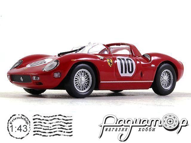 Ferrari 250 P №110 1000 km Nurburgring, J.Surtees / W.Mairesse (1963) ALT326