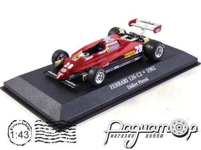 Ferrari 126 C2 №28 Formula 1, Didier Pironi (1982) 7174014