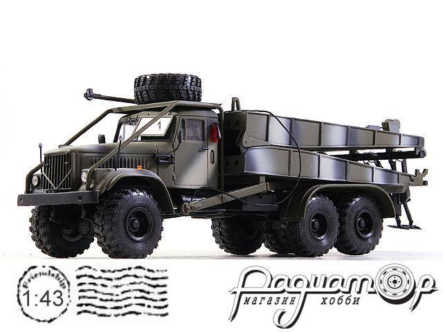 КрАЗ-257 тяжелый мост ТМ-3 (1987) 190219