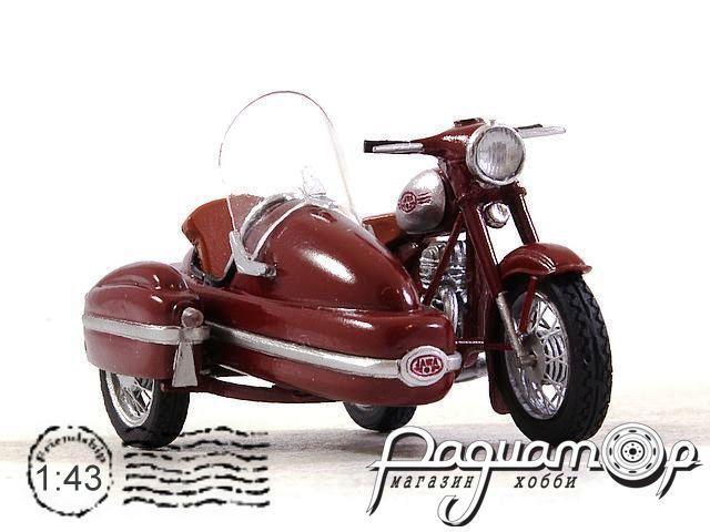 Jawa 350 Kyvacka с коляской (1966) 190300