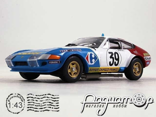 Ferrari 365 GTB4 Competizione №39 24h Le Mans, J.C.Andruet / C.Ballot-Lena (1972) ALT303