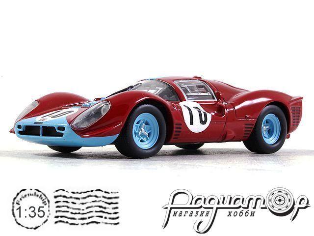 Ferrari 412 P №10 1000km Spa, R.Attwood / L.Bianchi (1967) ALT319