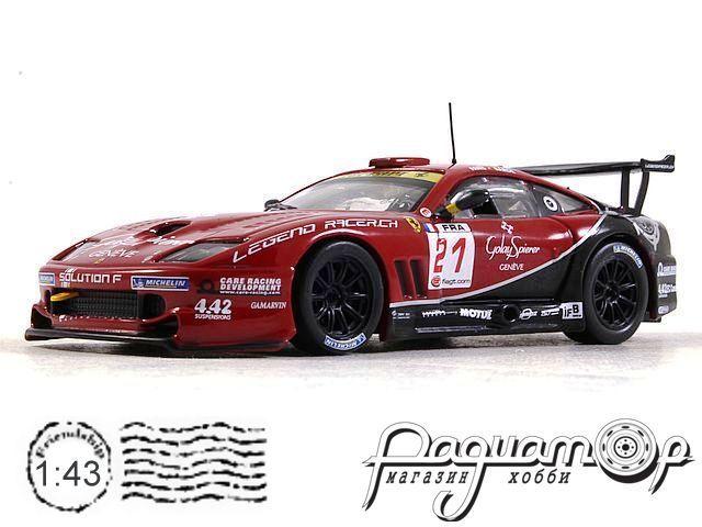 Ferrari 550 Maranello №21 Paul Ricard FIA GT, O.Panis / A. Barde (2009) ALT316