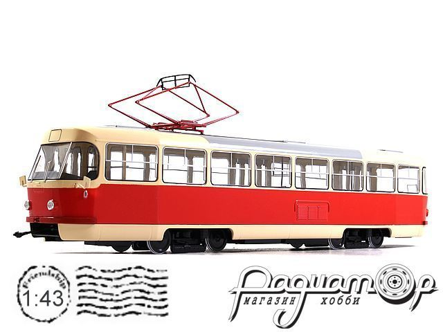 Трамвай Tatra-T3SU (1962) SSM4031