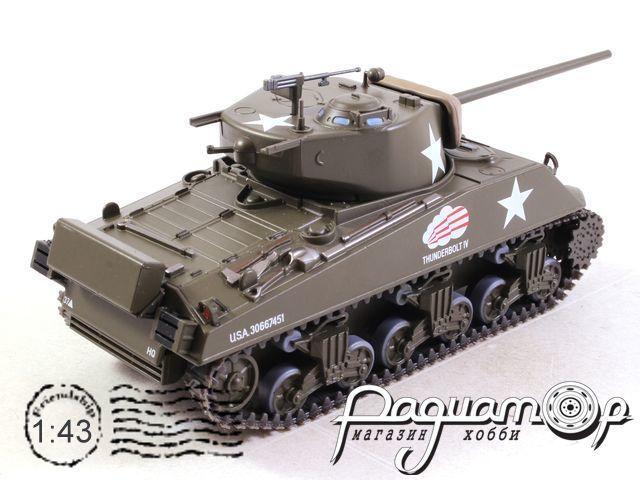 Танки - легенды мировой бронетехники №19, M4A3 (76mm) Sherman (США) (1944)