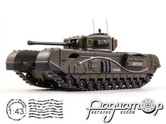 Танки - легенды мировой бронетехники №18, Churchill Mk.VII, Великобритания (1944)