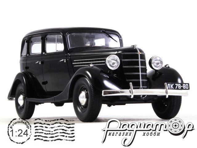 Легендарные советские автомобили №32, ГАЗ-11-73 (1940)